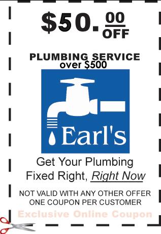 $50 off plumbing coupon